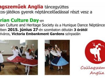 Csillagszeműek Anglia fellépése a Hungarian Culture Day-en